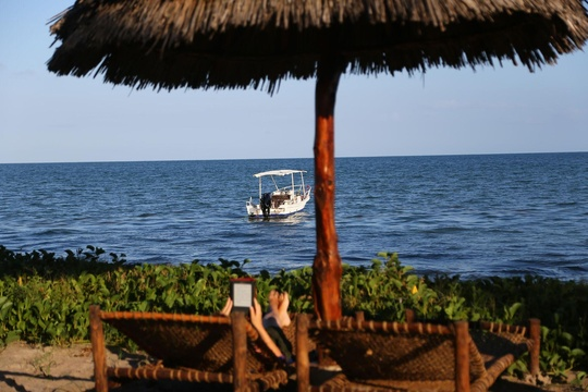 Do Nothing at Kijongo Bay, Pangani, Tanzania